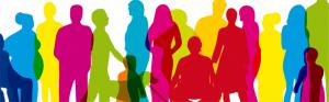 Group of women, men and children