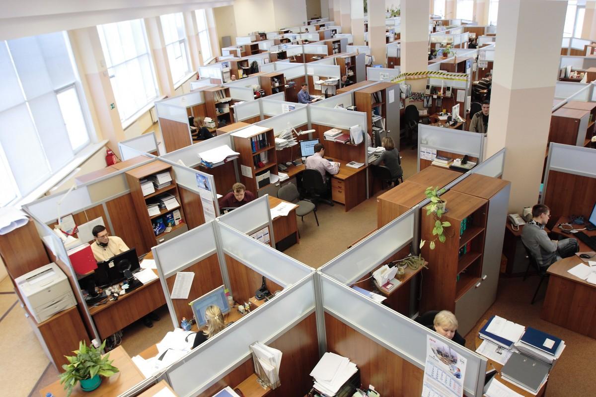Working employees