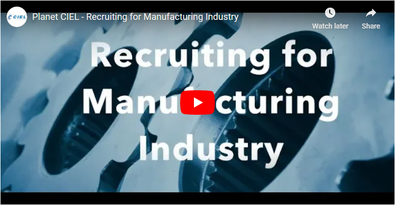 Recruiting for Manufacturing Industry