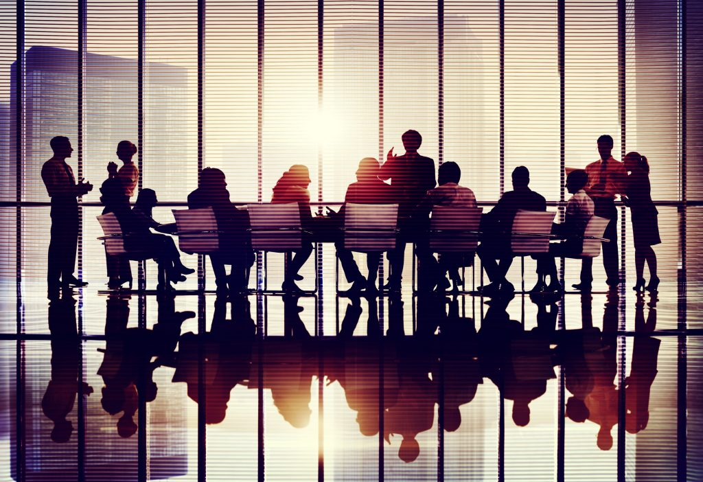 41210189 – meeting seminar conference business collaboration team concept