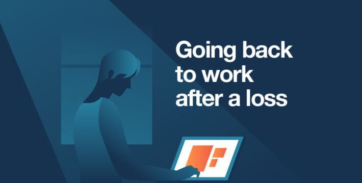 Going back to work after a loss – Infographic